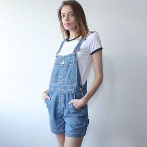 ECU Calvin Klein Jeans Overall Shorts